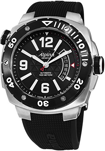 ALPINA EXTREME DIVER 100M RUBBER WATCH AL-525LBB5AEV6