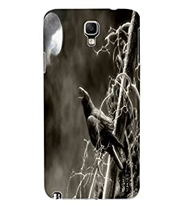 ColourCraft Scary Night Design Back Case Cover for SAMSUNG GALAXY NOTE 3 NEO DUOS N7502