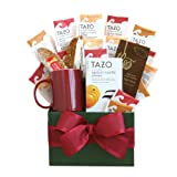 California Delicious Tazo Tea Temptations Gift Basket