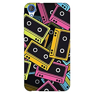 Jugaaduu Casettes Back Cover Case For HTC Desire 820 Dual Sim