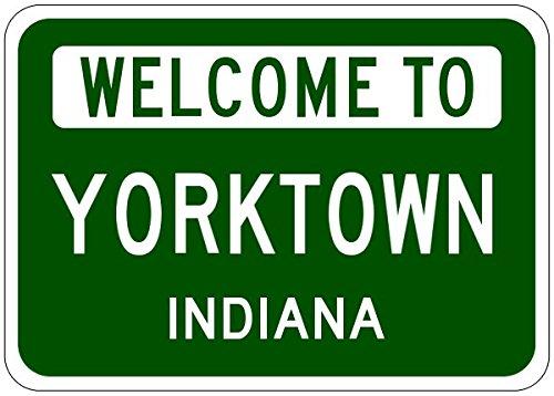 Yorktown City Sign