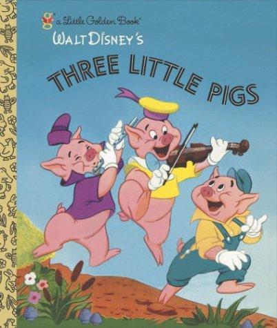 Three Little Pigs (Little Golden Book), Golden Books