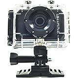 """Andoer S200 FHD 1080P 30m Etanche Sports Action Vidéo Caméra 2.0"""" LCD écran Caméscope"""