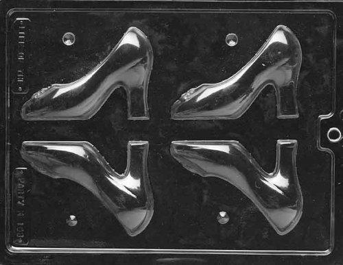 cybrtrayd k108 medium 3d high heel shoe chocolate