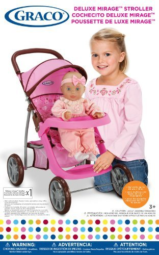 Graco Deluxe Mirage Doll Stroller Toy, Kids, Play, Children front-711655