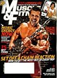 img - for Muscle & Fitness January 2010 Use Chains for Big Gains, Allison Baver/Speed Skater Pictorial, Push On Through, Bottle Rockets, Bachelor Food, Brian Deegan/Freestyle Motocross Rider book / textbook / text book