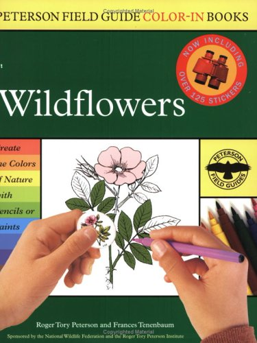 Wildflowers (Peterson Field Guide Color-in Books)