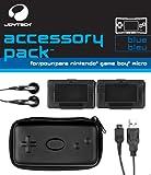 echange, troc Pack Bleu (écouteurs, mini sacoche, câble recharge USB, 2 boîtiers range cartouches)