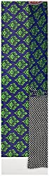 Monalisa Selection Women's Cotton Unstitched dress material (UP1055-MS, Blue & Green )