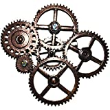 Steampunk Gears and Cogwheels Brooch