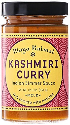 Maya Kaimal Kashmiri Curry Simmer Sauce, Mild, 12.5 oz (Indian Curry Simmer Sauce compare prices)