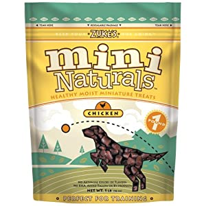 Zuke's mini natural Chicken healthy treats