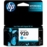 HP 920 (CH634AN) Cyan Original Ink Cartridge
