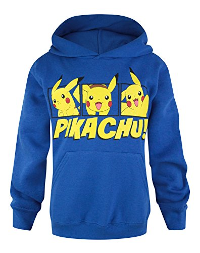 Official Pokemon Pikachu Boy's Hoodie (11-12 Years)