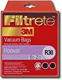 Filtrete Hoover R30 plus MicroAllergen Bags, 5 Bags and 2 Filters Per Pack