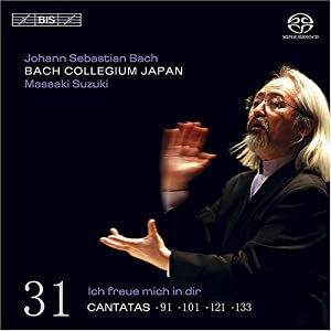 J.S. Bach: Cantatas 91, 101, 121, & 133 [Hybrid SACD]