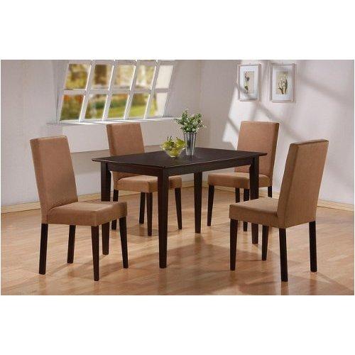 5pc Cappuccino furniture