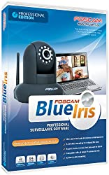 Foscam Blue Iris Professional - Supports Many IP Camera Brands Including Foscam and Agasio, Zone Motion Detection, H.264 Compression Recording, E-mail And SMS Text Messaging Alerts!