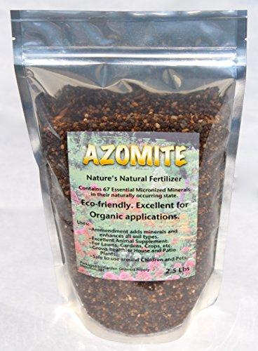 Azomite organic fertilizer booster soil amendment for Organic soil for sale