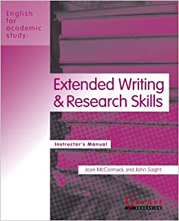 Extended Writing and Research Skills