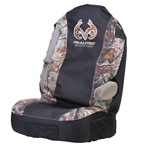 Realtree Universal Seat Cover (Realtree AP Camo, Heavy-Duty Polyester, Sold Individually) (F350 Seat Covers Ford Truck compare prices)