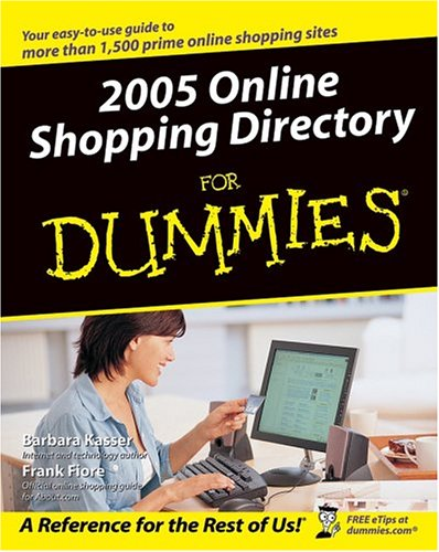 2005 Online Shopping Directory For Dummies (For Dummies (Computers)) front-235742