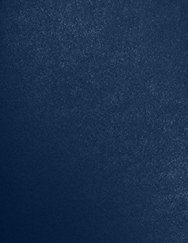 LUXPaper 8.5 x 11 Paper for Crafts and Printing in Lapis Metallic - Stardream, Scrapbook and Office Supplies, 500 Pack (Blue) (Color: Lapis Metallic - Stardream?, Tamaño: 500 Qty.)