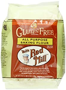 Bob's Red Mill Gluten-Free All-Purpose Flour, 44-Ounce Units (Pack of 4)
