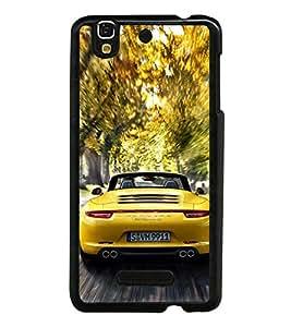 Racing Car 2D Hard Polycarbonate Designer Back Case Cover for YU Yureka :: YU Yureka AO5510