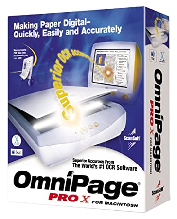 OmniPage Pro X for Macintosh [Old Version]