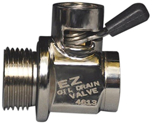 Ez (Ez-107) Silver 12Mm-1.75 Thread Size Oil Drain Valve