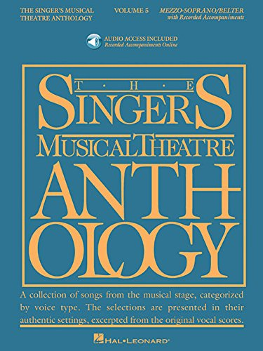 Singer's Musical Theatre Anthology, Volume 5 (Singer's Musical Theatre Anthology (Songbooks))