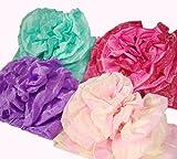 お子様フワフワ天使のフラワー結び帯 4色 子供兵児帯ボリューム作り帯 浴衣帯 ゆかた帯