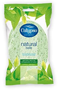 Calypso Natural Belle Body Sponge (Colours May Vary)