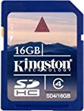 Kingston 16GB SD SDHC Memory Card Stick For Canon IXUS 300 HS, IXUS 310 HS, IXUS 330, IXUS 40, IXUS 400, IXUS 430 Digital Camera