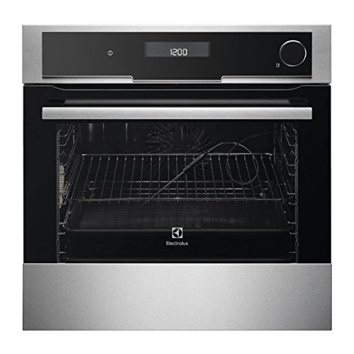 Electrolux EOB8857AAX CombiSteam Deluxe Integrated 60cm Multifunctional Single Oven, Stainless Steel and Black
