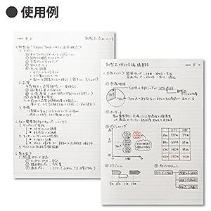 コクヨ キャンパスノート ドット入り B罫 50枚 A5 ノ-105BT-DB