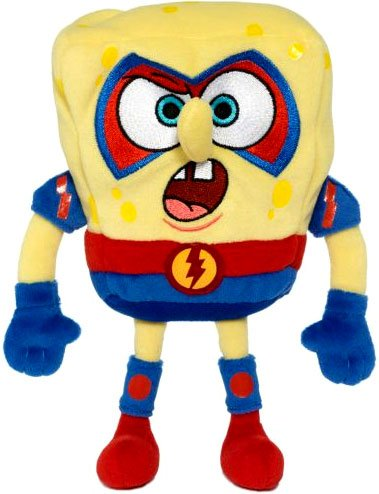Picture of Jakks Pacific SpongeBob Squarepants 6 Inch Plush Figure The Absorber (B002SZY1IW) (Jakks Pacific Action Figures)
