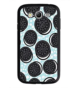 PrintDhaba Cookies D-2142 Back Case Cover for SAMSUNG GALAXY GRAND NEO PLUS (Multi-Coloured)