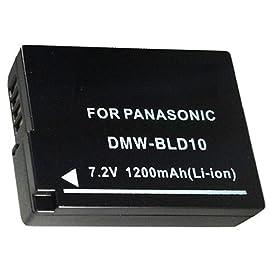Panasonic Lumix DMC-G3 Digital Camera Battery - Premium DMW-BLD10 Battery