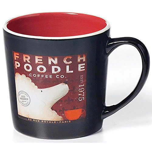 Demdaco French Poodle Mug