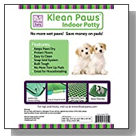 #1 Training Pad Holder & Cat Litter Mat - No Torn Puppy Pads - Keeps Paws Dry - Protect Floor from Accidents - Easy Cleanup - Save Money Using Pads Longer - Perfect for Puppies, Small Breeds and Cats