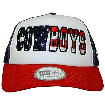 New Era Dallas Cowboys Americana Trucker NFL Cap