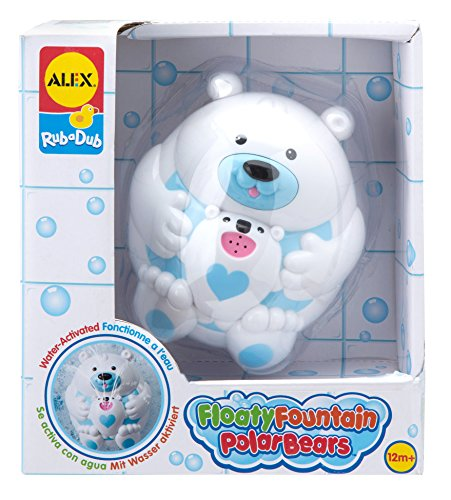 ALEX Toys Rub a Dub Floaty Fountain Polar Bears