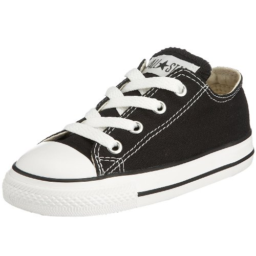 Converse Infants's CONVERSE INFANTS CHUCK TAYLOR A/S OXFORD BASKETBALL SHOES 7 (BLACK)