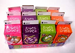 Jugos De Sabores Sour Mexican Candy 12 pcs Assorted Flavors