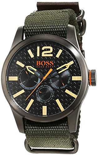 Boss Orange Men's Watch Paris Multieye Analog Quartz Fabric 1513312
