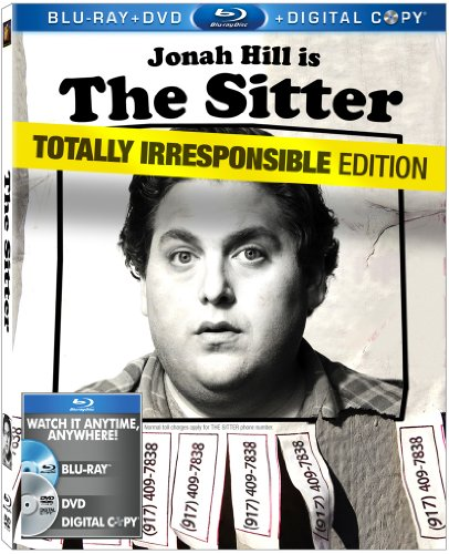 Cover art for  The Sitter (Two-Disc Blu-ray/DVD Combo + Digital Copy)