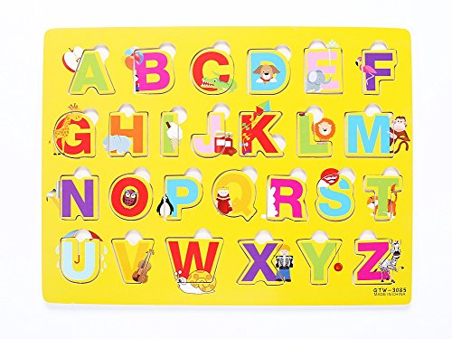 Vidatoy Special Edition 26 Pcs Alphabet Matching Puzzle For Kids With Plant or Animal(Capital Letters) -PO (Ice Cream Matching Game compare prices)