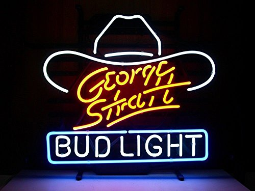 17x14-bud-light-george-strait-real-glass-neon-light-beer-bar-pub-store